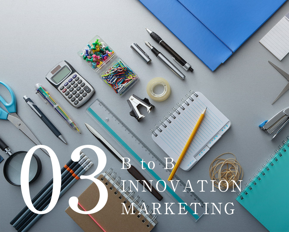 B to B INNOVATION MARKETING